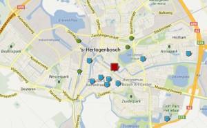 hotel den Bosch centrum tussen gracht en sint-jan